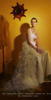 Creative bridal fashion shoot by tuckys photography for kai bridal avertisment shoot